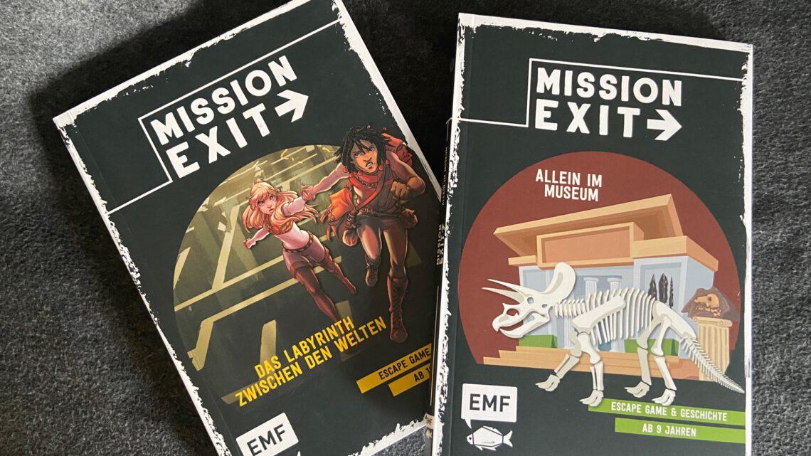 Rezension – MISSION EXIT – Escape Game für Kinder
